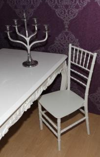 Casa Padrino Polycarbonat Designer Stuhl - Ghost Chair Weiß - Acyrl Möbel - Geisterstuhl - Ghost Stuhl *** Angebot*** - Vorschau 3