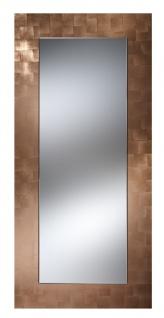Casa Padrino Luxus Spiegel Kupferfarben 75 x H. 160 cm - Wohnzimmermöbel