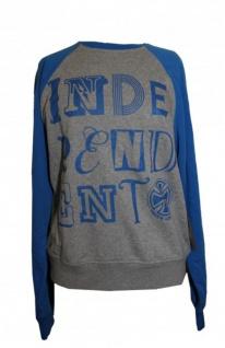 Independent Skateboard Pullover Letter Heather Sweater