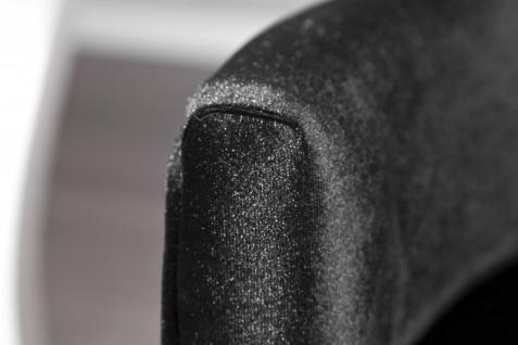Casa Padrino Luxus Esszimmer Stuhl mit Armlehnen und Strasssteinen, Schwarz Mod2 - Barock Möbel - Vorschau 4
