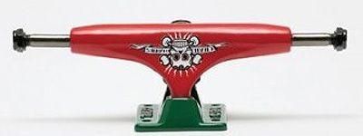 Crail Skateboard Achsen Set 129 LOW LIGHT El Gomes rot/grün (2 Achsen)