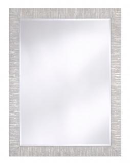Casa Padrino Wohnzimmer Spiegel Silber 91 x H. 120 cm - Luxus Accessoires