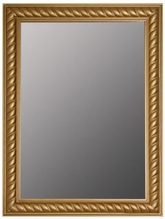 Casa Padrino Barock Spiegel / Wandspiegel Antik Gold 62 x H. 82 cm - Möbel im Barockstil