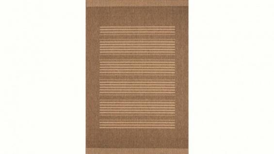 Casa Padrino Teppich Mediterran Braun - Designer Teppich