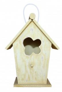 Casa Padrino Designer Vogelhaus Gelb- Vogelpalast