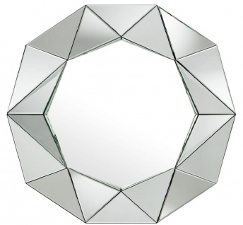 Casa Padrino Luxus Wandspiegel 105 x 10 x H. 100 cm - Garderoben Spiegel - Wohnzimmer Spiegel - Luxus Kollektion