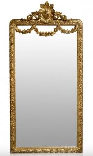 Casa Padrino Barock Spiegel Gold 120 x H. 242 cm - Barock Wandspiegel