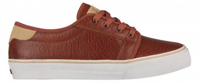 Fallen Skateboard Schuhe Forte Jamie Thomas Saddle Brown / Khaki