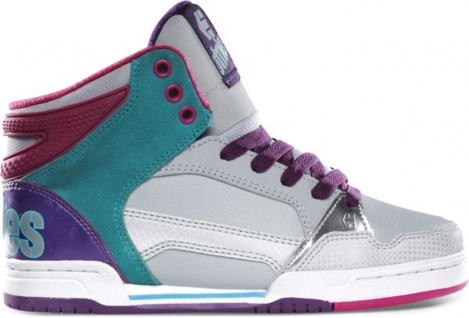 Etnies Skateboard Damen Schuhe Uptown 2.0 Grey/Blue Etnies Shoes