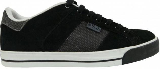 Vox Skateboard Schuhe Trooper Strubing2 Black Burlap