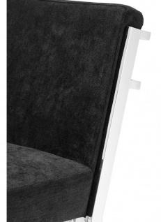 Casa Padrino Designer Hochstuhl / Barstuhl / Barhocker Silber 43 x 54 x H. 101 cm - Luxus Qualität - Vorschau 4