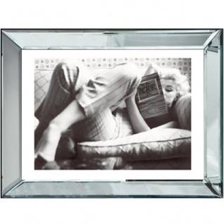 """Casa Padrino Designer Bild """" Ein gutes Buch"""" Marilyn Monroe 80 x H. 60 cm - Limited Edition"""