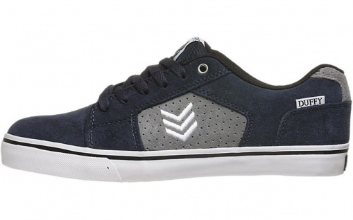 Vox Skateboard Schuhe Duffy Navy Grey White