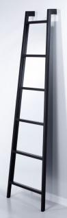 Casa Padrino Standspiegel im Leiter Design 52 x H. 185 cm - Luxus Deko Spiegel