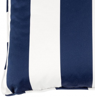 Casa Padrino Luxus Kissen Blau / Weiß 60 x 60 cm - Wohnzimmer Accessoires - Vorschau 2