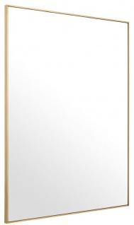 Casa Padrino Luxus Spiegel / Wandspiegel Messingfarben 180 x H. 140 cm - Garderobenspiegel - Wohnzimmer Spiegel - Luxus Qualität - Vorschau 3