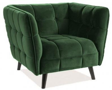 Casa Padrino Luxus Sessel 92 x 85 x H. 78 cm - Verschiedene Farben - Wohnzimmer Sessel mit edlem Samtsoff