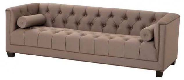 Casa Padrino Designer Sofa Taupe - Luxus Kollektion
