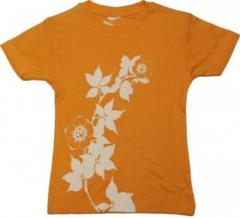 Myskatebrand Skateboard Girlie T-Shirt Yellow