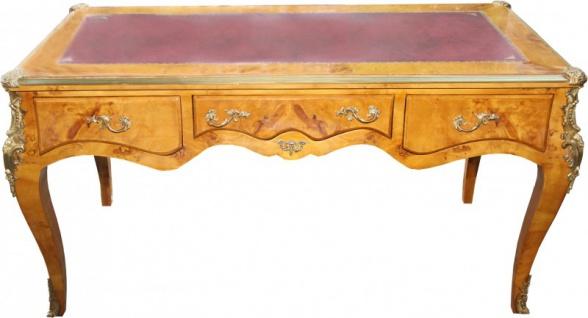Casa Padrino Luxus Barock Schreibtisch Vogelaugen Ahorn Sekretär B 167 Cm    Antik Stil