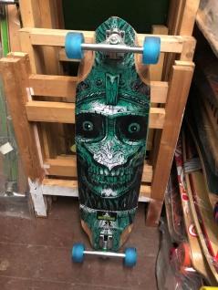 Koston Longboard Skull Amort Komplettboard 36.7 x 10.0 inch - 1B Ware mit Lagerspuren