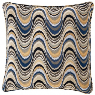 Casa Padrino Luxus Kissen Mehrfarbig 60 x 60 cm - Designer Zierkissen