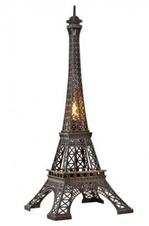Casa Padrino Luxus Standleuchte Eiffelturm Bronzefarben - Massives Metall - Leuchte Lampe - Tischleuchte Tischlampe, Stehleuchte, Stehlampe