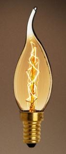Casa Padrino Glühbirnen 6er Set Antik Gold / Gold 3, 5 x H. 12, 5 cm - Luxus Glühbirnen