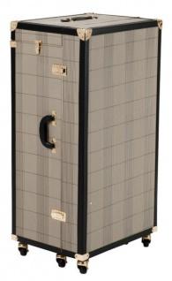 Casa Padrino Luxus Schuh Schrank im Vintage Koffer Design - Kommode - Art Deco Barock Jugendstil Kofferschrank - Luxus Hotel Einrichtung - Vorschau 3