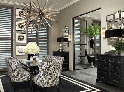 Casa Padrino Designer Mahagoni Kommode 107 x 51 x H. 101 cm - Luxus Qualität - Vorschau 5