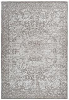 Casa Padrino Wohnzimmer Teppich Vintage Taupe - Verschiedene Größen - Teppich im Vintage Look - Wohnzimmer Deko