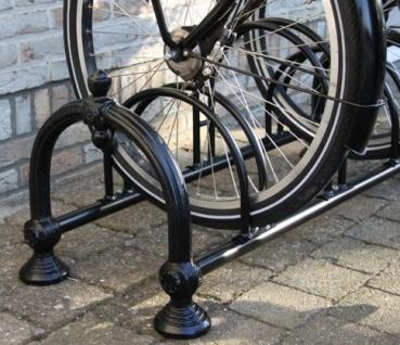 Nostalgie Fahrradständer aus Gusseisen - Jugendstil Fahrrad Ständer - Vorschau 2