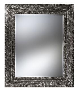 Casa Padrino Luxus Designer Wandspiegel Silber 116 x H. 140 cm - Hotel Möbel & Accessoires