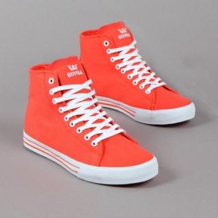 SUPRA Skateboard Styler Schuhe Thunder Summer Red / Orange Beliebte Schuhe