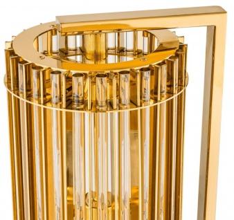 Casa Padrino Luxus Tischleuchte Gold 23 x 16, 5 x H. 66 cm - Limited Edition - Vorschau 3