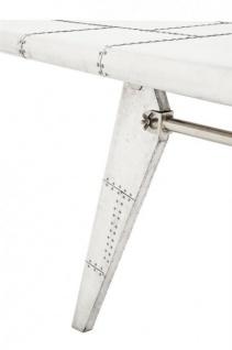 Casa Padrino Luxus Designer Schreibtisch Aircraft Wing Left Aluminium Flugzeug  Flügel Art Deco Vintage   Vorschau