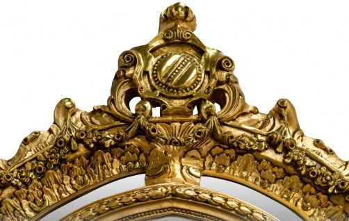 Pompöös by Casa Padrino Barock Standspiegel Gold 134 x H. 257 cm - Handgeschnitzt - Harald Glööckler Spiegel - Vorschau 5
