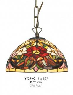 Tiffany Pendelleuchte Durchmesser 25 cm YT27 + C Leuchte Lampe