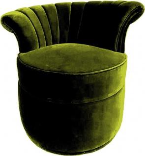 Casa Padrino Luxus Art Deco Sessel Left - Verschiedene Farben - Wohnzimmer Sessel - Art Deco Wohnzimmer Möbel