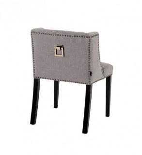 Casa Padrino Luxus Esszimmer Stuhl Grau - Luxus Kollektion - Vorschau 2