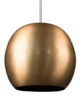 Casa Padrino Luxus Hängeleuchte / Pendelleuchte Gold Ø 59 x H. 52 cm - Moderne Aluminium Leuchte