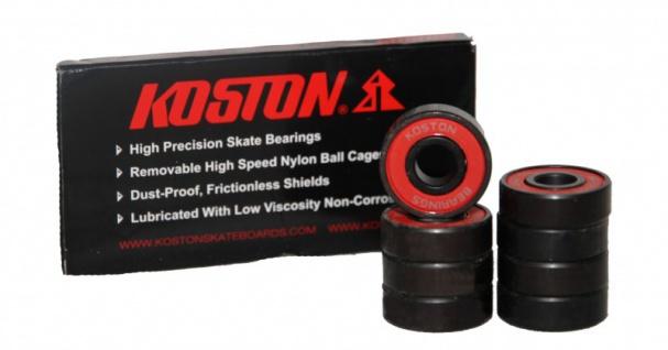 Koston Titanium Skateboard Kugellager Set (8 Kugellager) Black
