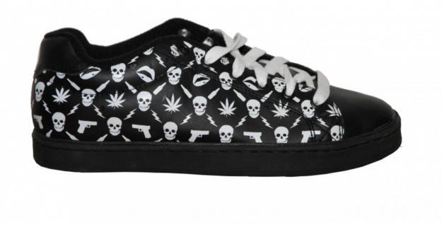 Osiris Skateboard Schuhe Troma II 7 Deadly Sins Black/White