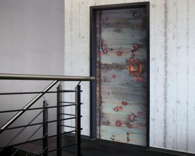 Tür 2.0 XXL Wallpaper für Türen 20015 Vintage - selbstklebend- Blickfang für Ihr zu Hause - Tür Aufkleber Tapete Fototapete FotoTür 2.0 XXL Vintage Antik Stil Retro Wallpaper Fototapete - Vorschau 2