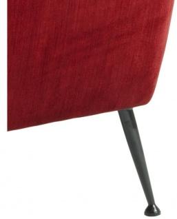 Casa Padrino Luxus Sessel Rot 88 x 80 x H. 91 cm - Designer Club Möbel - Vorschau 5