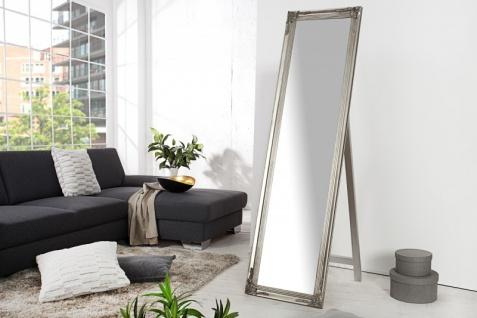 Casa Padrino Luxus Standspiegel 160 cm - Designer Spiegel - Silber - Vorschau 2