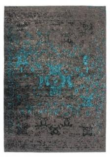 Casa Padrino Luxus Teppich Grau Blau Verschiedene Grossen