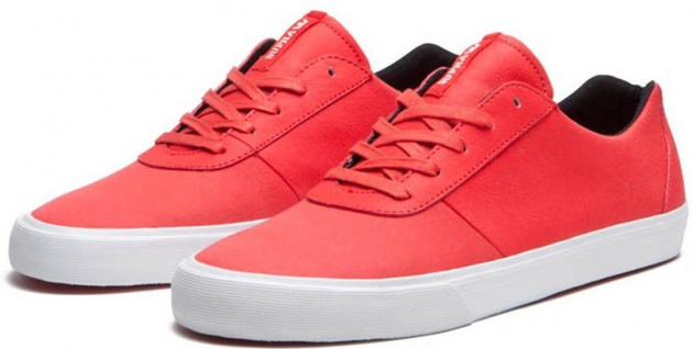 SUPRA Skateboard Schuhe Cuttler Beliebte Low- Chili Red Beliebte Cuttler Schuhe f3d9ef