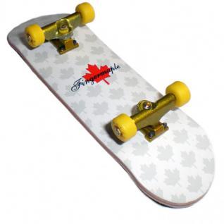 Fingermaple Profi Fingerboard Komplettboard aus Holz Yellow/Gold- Made in USA - Luxury Edition - Profi Fingerboard