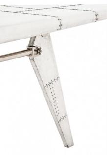 Casa Padrino Luxus Designer Schreibtisch Aircraft Wing Aluminium Flugzeug  Flügel Art Deco Vintage   Vorschau 3